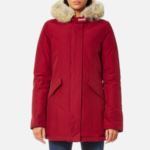 Woolrich Women's Arctic Parka - Red Cherry