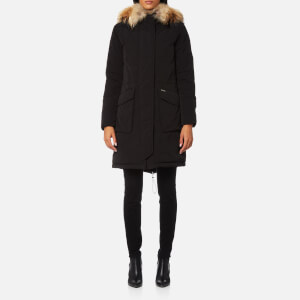 Woolrich Women's Military Parka - Black
