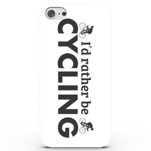 Coque iPhone & Android I'd Rather Be Cycling - 4 Couleurs