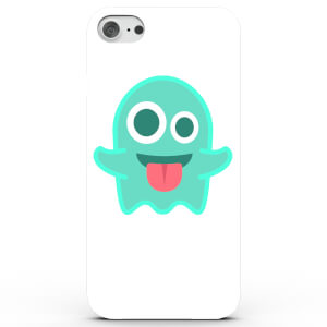 Coque iPhone & Android Emoji Fantôme - 4 Couleurs