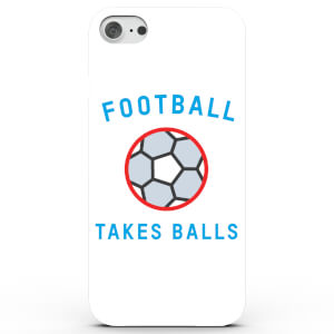 Football Takes Balls Phone Case for iPhone & Android - 4 Colours