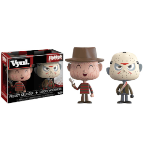 Freddy Krueger and Jason Vorhees Funko Vynl.
