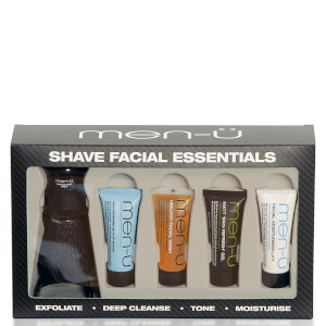 men-ü Shave Facial Essentials Set (Worth $57)