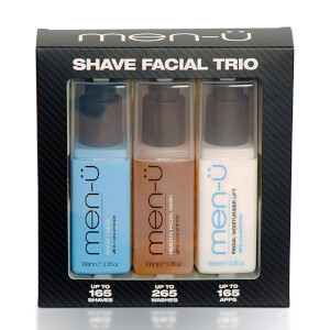men-ü Shave Facial Trio Set (Worth $52)