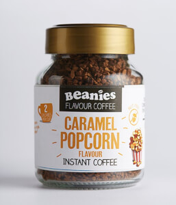 Beanies Caramel Popcorn Flavour Instant Coffee