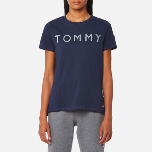 Tommy Hilfiger Women's Tommy Print T-Shirt - Peacoat