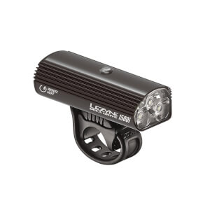 Lezyne Deca Drive 1500i Loaded Front Light - Black