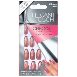 Elegant Touch Chrome Chrome Kisses Nails