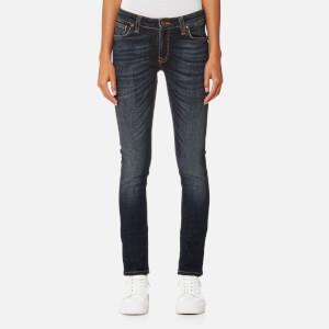 Nudie Jeans Women's Skinny Lin Jeans - Blue Motion