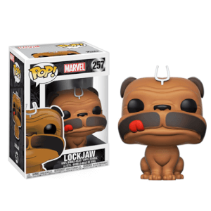 Inhumans Lockjaw Pop! Vinyl Figur