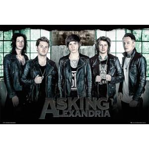 Asking Alexandria Window - 61 x 91.5cm Maxi Poster