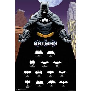 Batman Comics Logos - 61 x 91.5cm Maxi Poster