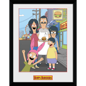 Bob's Burgers Family - 16 x 12 Inches Framed Photograph