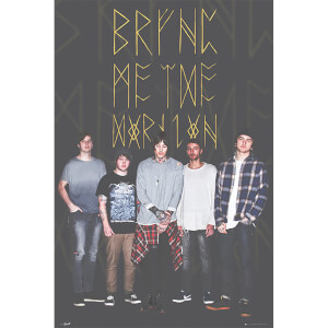 Bring Me the Horizon Group Black - 61 x 91.5cm Maxi Poster
