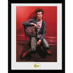 David Bowie Chair - 16 x 12 Inches Framed Photograph
