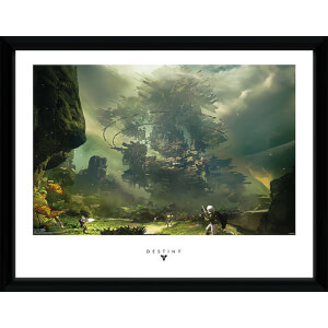 Destiny the Fortress - 16 x 12 Inches Framed Photograph