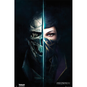 Dishonored 2 Faces - 61 x 91.5cm Maxi Poster