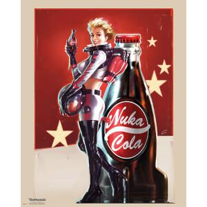 Fallout 4 Nuka Cola - 40 x 50cm Mini Poster