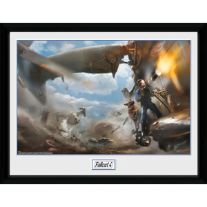 Fallout 4 Virtibird Door Gunner - 16 x 12 Inches Framed Photograph