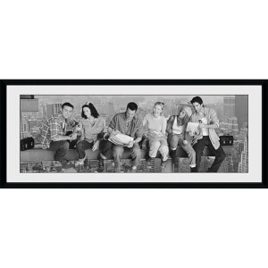 Friends Girder - 30 x 12 Inches Framed Photograph
