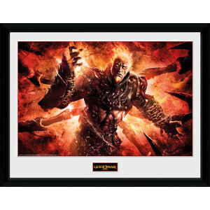 God of War Ares - 16 x 12 Inches Framed Photograph