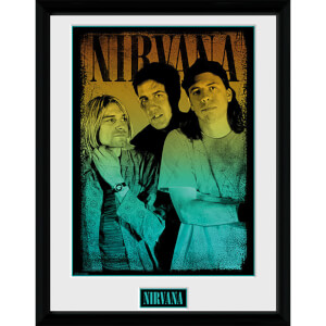 Nirvana Gradient - 16 x 12 Inches Framed Photograph