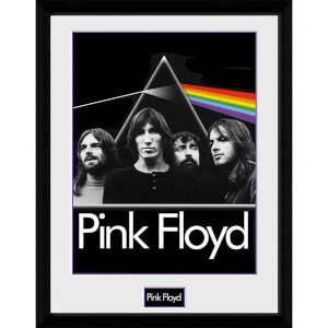 Pink Floyd Prism - 16 x 12 Inches Framed Photograph