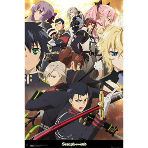Seraph of the End Group - 61 x 91.5cm Maxi Poster
