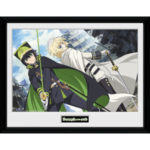 Seraph of the End Swords - 16 x 12 Inches Framed Photograph