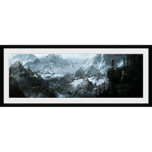 Skyrim Vista - 30 x 12 Inches Framed Photograph