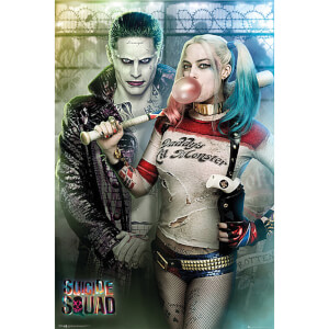 Suicide Squad The Joker and Harley Quinn - 61 x 91.5cm Maxi Poster