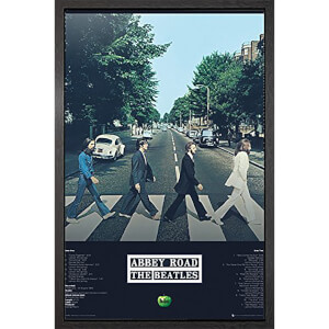 The Beatles Abbey Road Tracks - 61 x 91.5cm Framed Maxi Poster