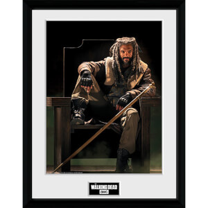 The Walking Dead Ezekial - 16 x 12 Inches Framed Photograph