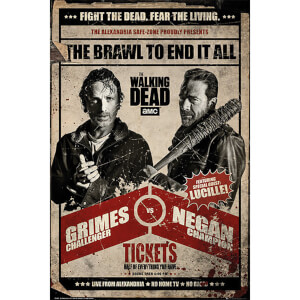 The Walking Dead Fight - 61 x 91.5cm Maxi Poster