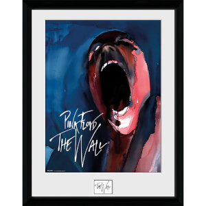 Pink Floyd The Wall Screan - 16 x 12 Inches Framed Photograph