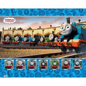 Thomas and Friends Group - 40 x 50cm Mini Poster