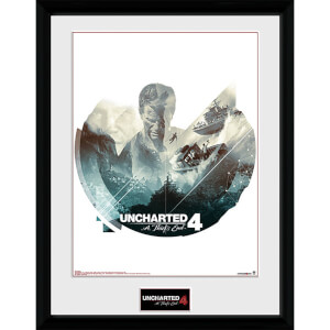 Uncharted 4 Boats - 16 x 12 Inches Framed Photograph
