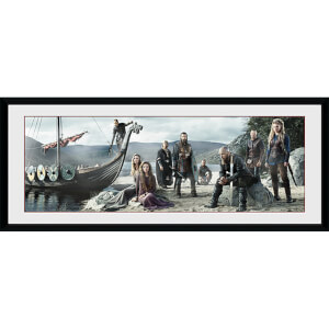 Vikings Beach - 30 x 12 Inches Framed Photograph
