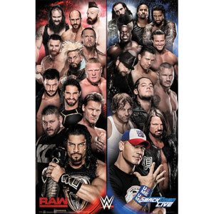 WWE Raw v Smackdown - 61 x 91.5cm Maxi Poster