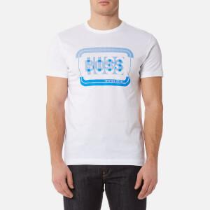 BOSS Green Men's 1 Crew Neck T-Shirt - White