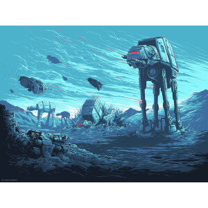 Attack Pattern Delta - Zavvi Exclusive Star Wars Dan Mumford Signed Silkscreen (18 x 24 Inch)