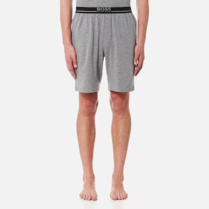 BOSS Hugo Boss Men's Small Logo Sweat Shorts - Grey