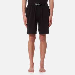 BOSS Hugo Boss Men's Small Logo Sweat Shorts - Black
