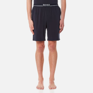 BOSS Hugo Boss Men's Small Logo Sweat Shorts - Navy