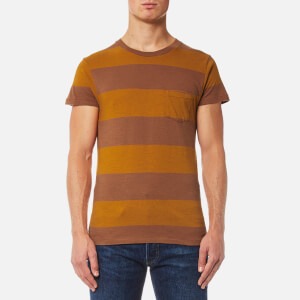 Levi's Vintage Men's 1950s Sportswear T-Shirt - Whisky & Rye Brown Multi