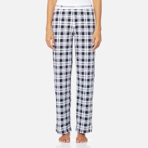 Tommy Hilfiger Women's Jersey Print Pants - Navy Blazer