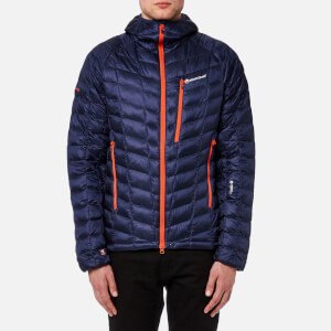 Montane Men's Hi-Q Luxe Jacket - Antarctic Blue/Burnt Orange