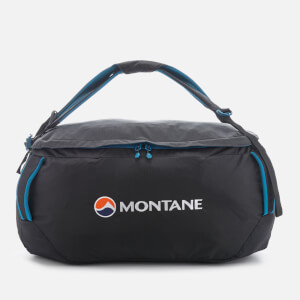 Montane Men's Transition 60 Backpack - Black/Zanskar Blue