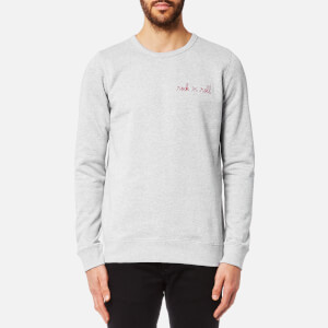 Maison Labiche Men's Rock 'n' Roll Sweatshirt - Gris Chine