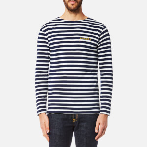 Maison Labiche Men's Panache Long Sleeve T-Shirt - Bleu Blanc